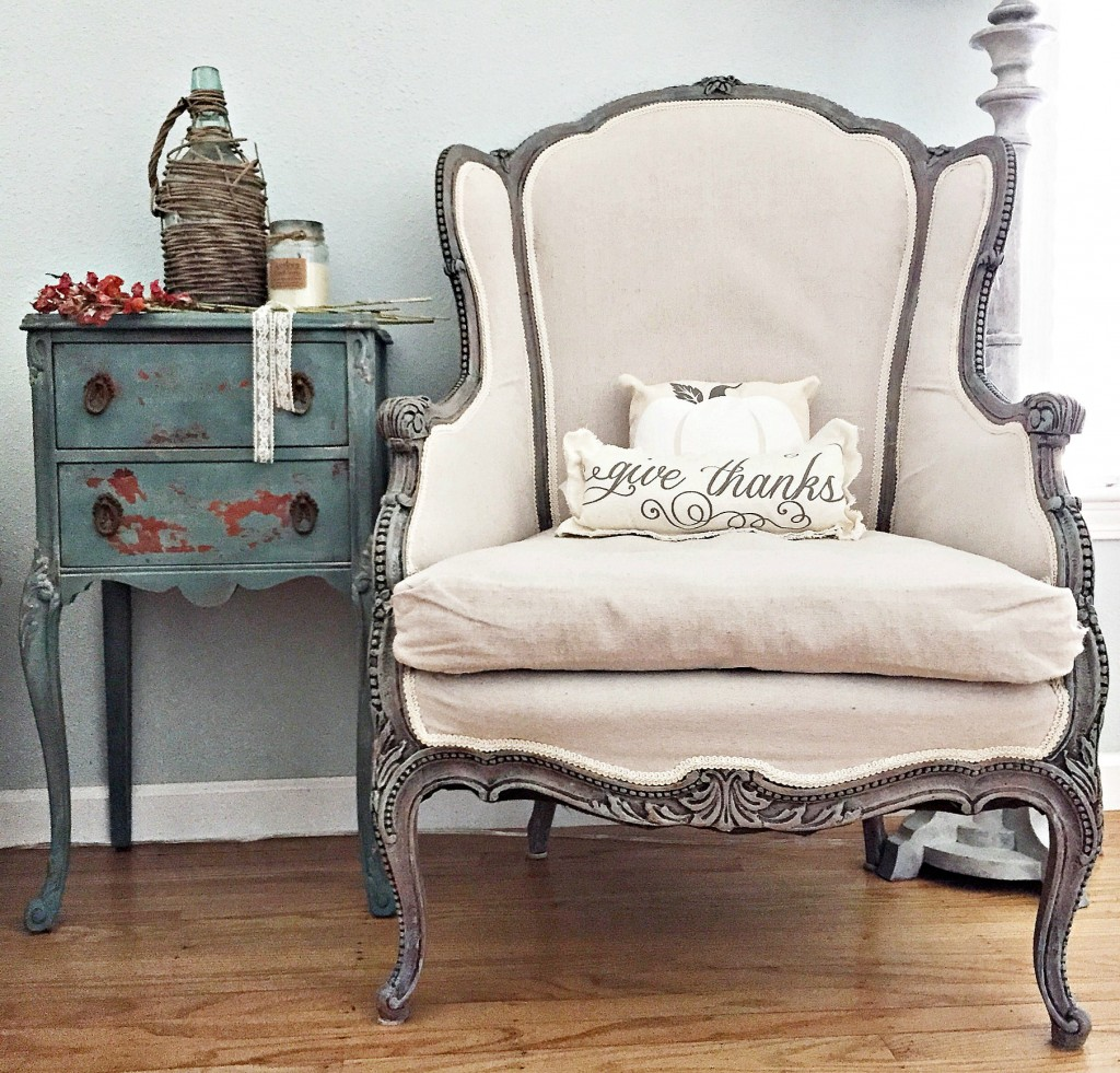 Reupholster With Drop Cloth » Momtique: Kendra Williams