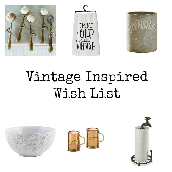 Vintage Inspired Weekly Wish List by Momtique
