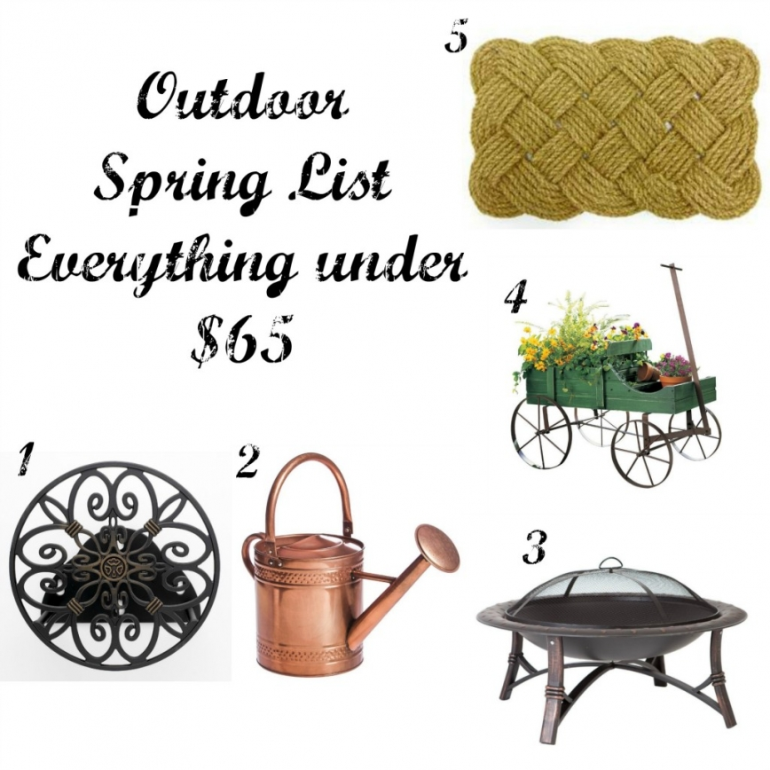 Outdoor Spring List