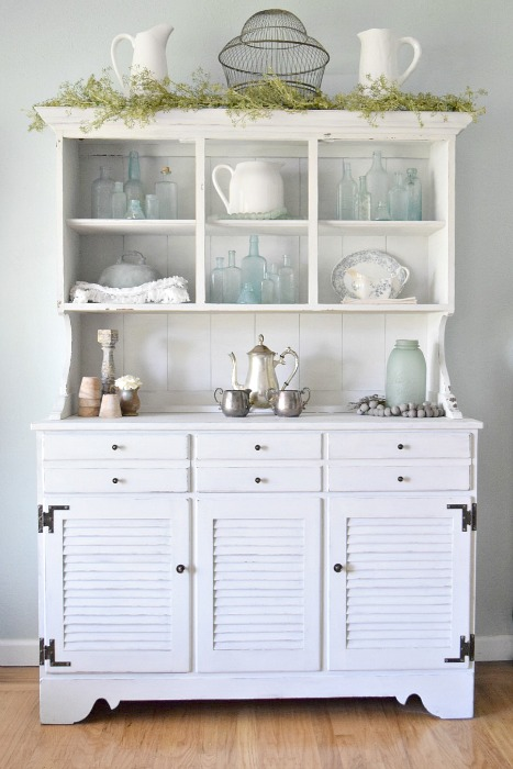 hutch staging ideas