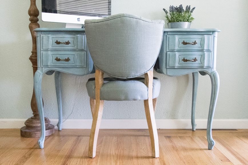 DIY Painted Desk