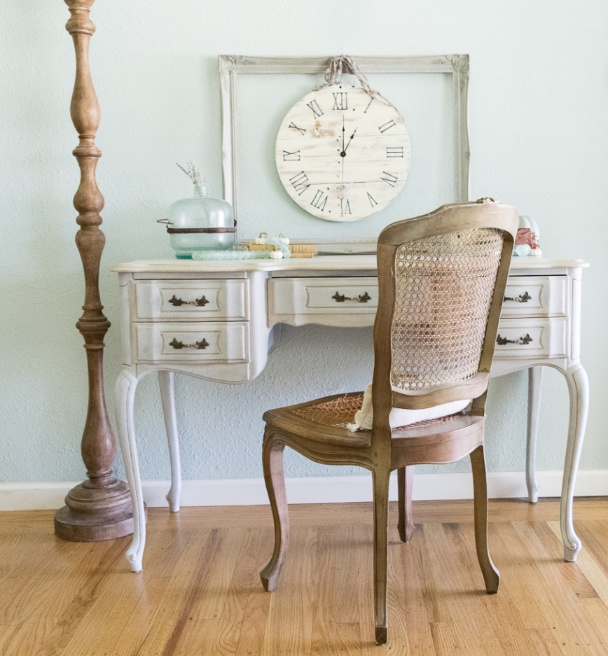 Shabby Chic Fall Desk